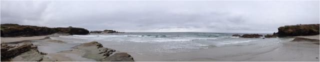 Panorámica Playa Os Castros