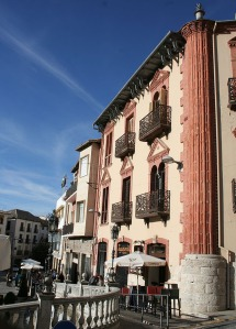 Edificio en la Plaza de la Corredera