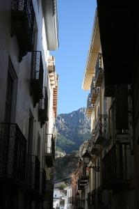 Callejuela camino de Balcón Zabaleta