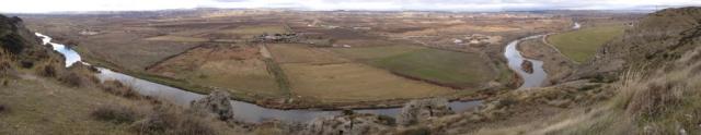 Vistas panorámicas de la Vega del Jarama