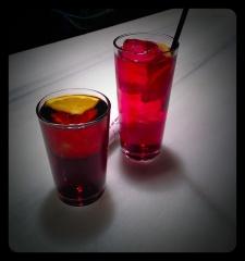 Las bebidas...