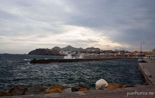 Pequeño temporal en el Puerto